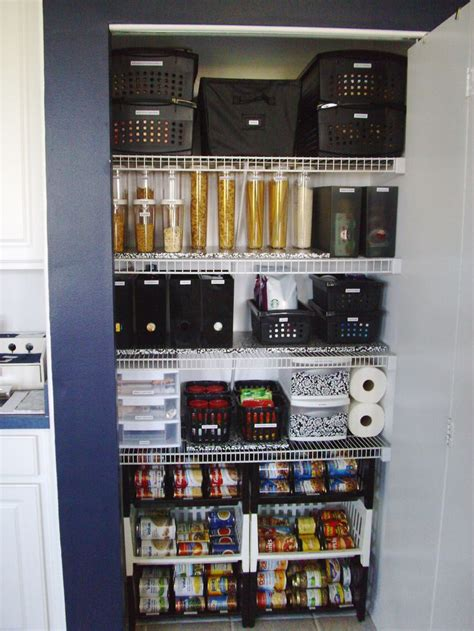 after new pantry organization system organization