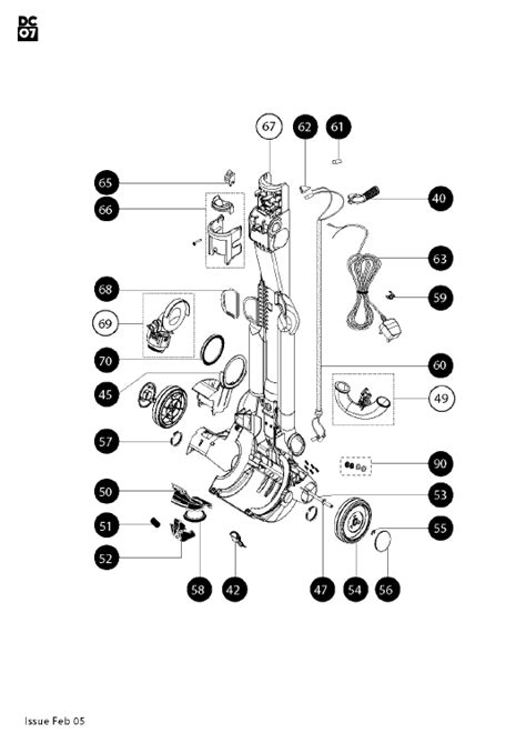 dc14 parts diagram dyson dc33 parts diagram dyson dc33 replacement parts