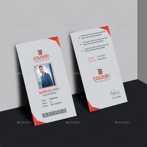 design id card modern modern id card 6 by creativekorner graphicriver