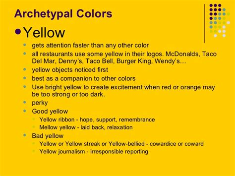 gold color meaning the psychology of color