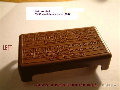 Dompet Bonia Ori Kotak Box looking for fuse box diagram for a 94 tracker so i can