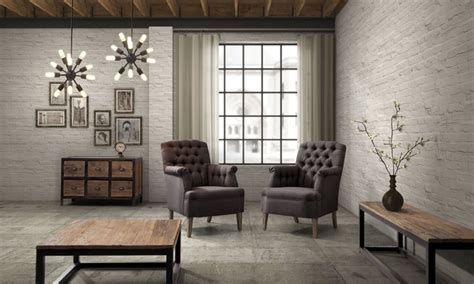 Industrial Living Room Furniture | industrial loft furniture