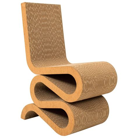 Wiggle Chair by Wiggle Side Chair By Frank Gehry 1972 For Sale At 1stdibs