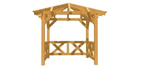 holzpavillon selber bauen bauplan walmdach pavillon selber bauen holz bauplan de