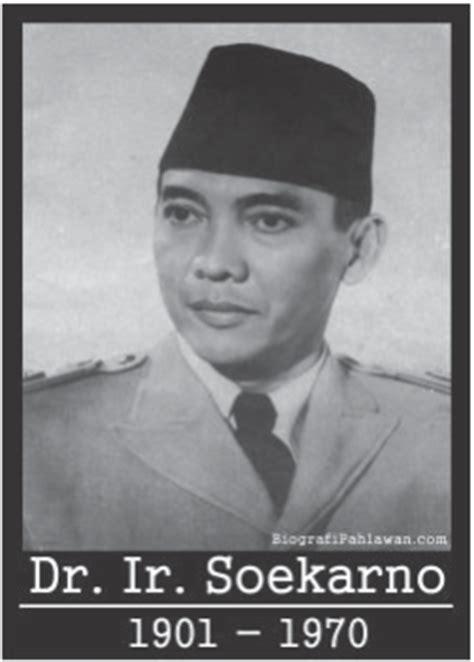 Pahlawan Ir Soekarno biografi ir soekarno presiden pertama republik indonesia
