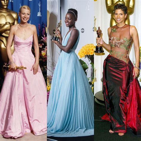 Look back at the most memorable Oscar dresses of all time