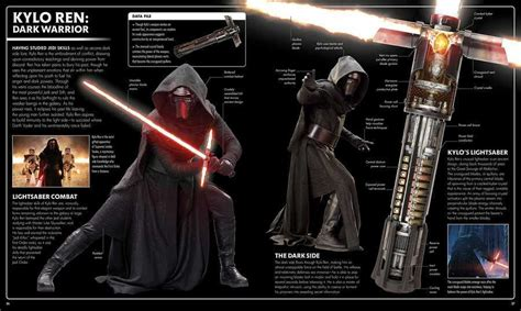 wars the last jedi tm visual dictionary books wars here s why kylo ren s lightsaber is so unique