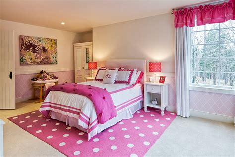 most relaxing bedroom paint color for with pink carpet and white curtains also