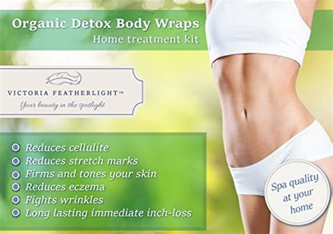 Wide Detox Stomach Wrap by Featherlight Best Organic Weight Loss Detox
