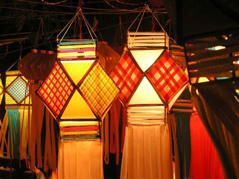 How To Make Diwali Paper Lanterns - diwali lanterns diwali 2012 on rediff pages