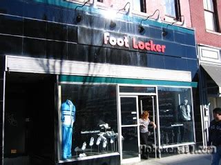 my business plan foot locker store front