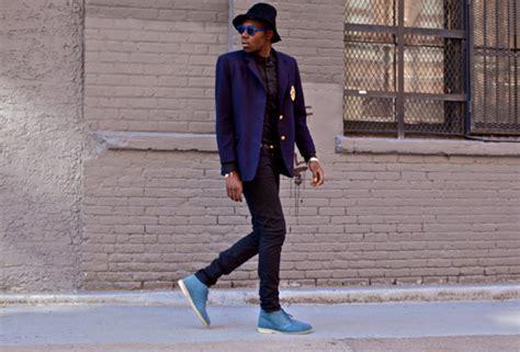 Sepatu Clarks Chukka clarks originals slate blue desert boot by ronnie fieg