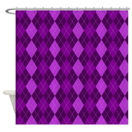 dark purple shower curtain dark purple argyle shower curtain by mightynicestuff