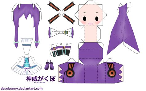 Chibi Papercraft - my papercraft templates anime more come to in