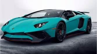 Are Lamborghinis Automatic Lamborghini Aventador Superveloce Roadster 2017 Erste