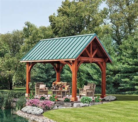 pavillon dach 41 best images about gazebo metal roof on