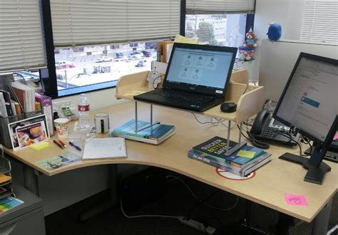 standing desk setup office hack why i switched to a