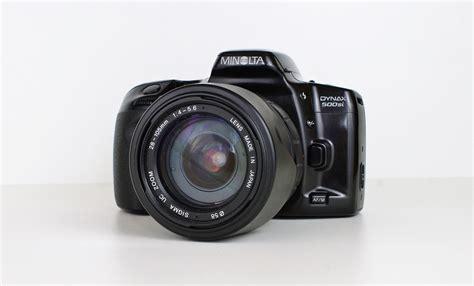 camara reflex minolta camara de fotos minolta reflex digital