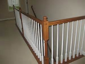 replace banister with half wall building our home with homes half walls vs