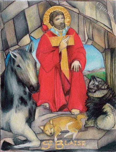 prayer to st blaise healer of throat ailment books prayers for our pets feast of st blaise bishop martyr