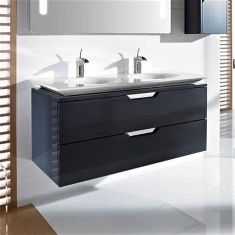 Roca Kalahari N 2 Drawer Vanity Unit With Double Basin Roca Bathroom Vanity Units