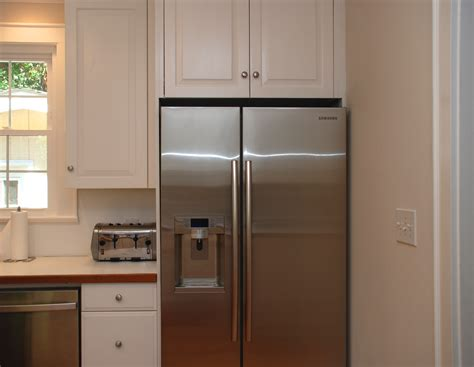 kitchen fridge cabinet refrigerator kitchen cabinet images