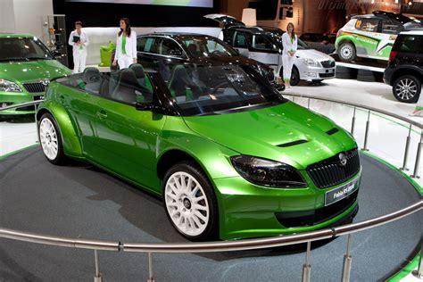 skoda fabia rs 2000 concept 2011 essen motor show