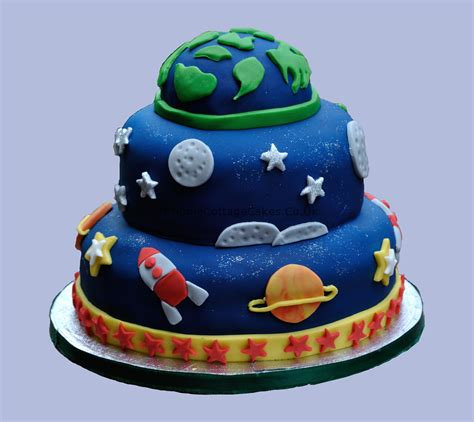 Decorating My First Home by Outer Space Alien Birthday Cake Apple Cottage Cakes