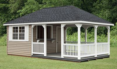 hip style storage sheds pine creek structures