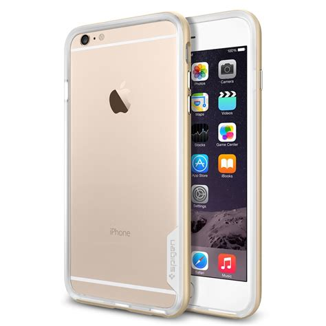 Sgp Neo Hybrid For Iphone 6 Plus Gold spigen ip6plus neohybrid ex gold