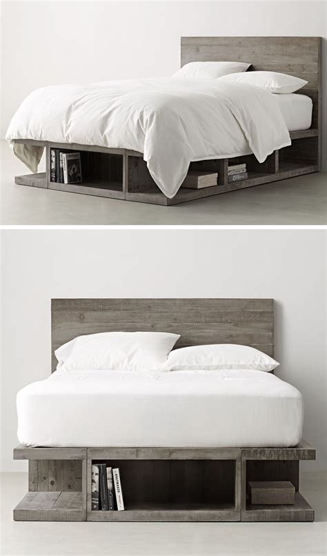 cinder block bed frame 9 ideas for under the bed storage contemporist