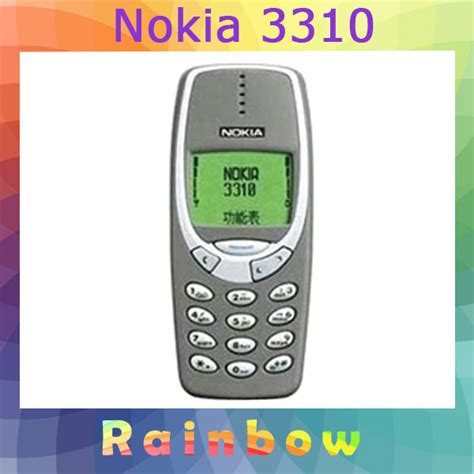 nokia 3310 cell phone original nokia 3310 mobile phone free shipping refurbished