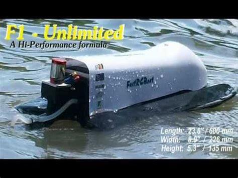 crazy rc boats f1 unlimited a hi performance formula rc boat part 1 1