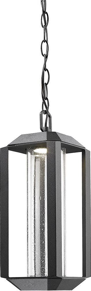 outdoor pendants light fixtures artcraft ac9105bk wexford modern black led outdoor pendant