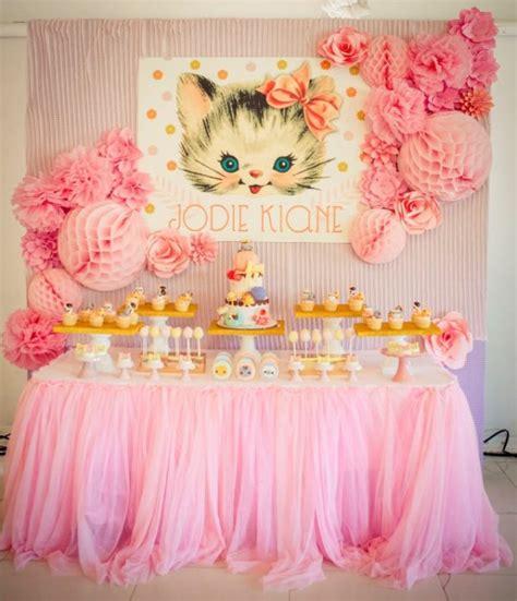 kitty cat themed birthday party 30 cute cat birthday party ideas pretty my party