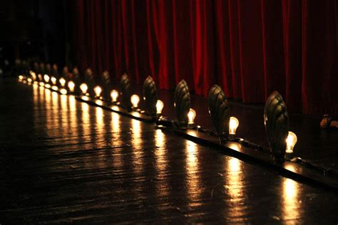 Foot Lights by Theatre Footlights Vintage Circus