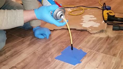 Laminate flooring repair to fix soft spot for uneven