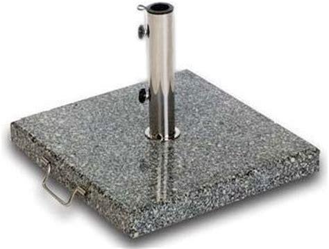 Sonnenschirm Sockel Fahrbar by Zebra Schirmfu 223 Basis Granit 55kg 4905 Schirmst 228 Nder Jardin