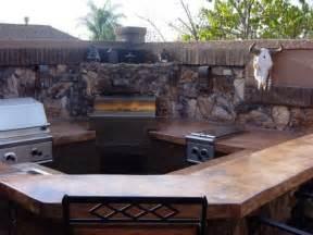 outdoor kitchen custom barbeque seamless venetian style