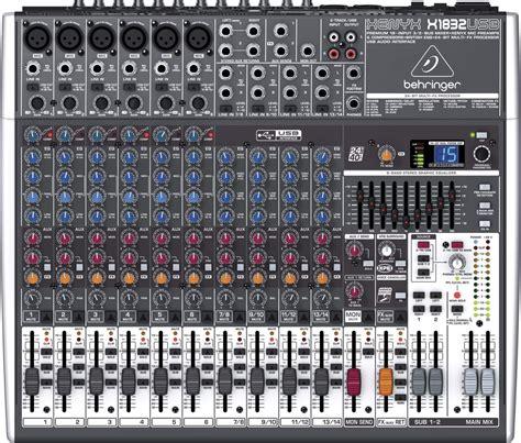 Mixer Behringer Xenyx X1832 Usb behringer xenyx x1832usb 18 input pa mixer w usb pssl