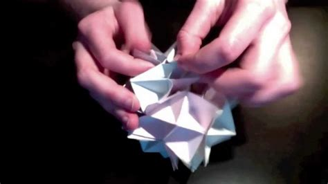 How To Make An Origami Spike - spike origami tutorial