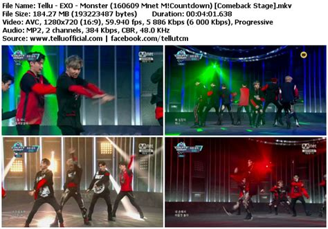 download perf exo lucky one monster mbc music core download perf exo lucky one monster mnet m