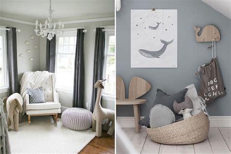 grey nursery wallpaper uk stylish pale grey wood and white unisex nursery inspiration
