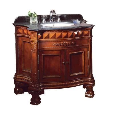 36 Granite Vanity Top by Ove Decors Buckingham 36 In Vanity In Cherry With