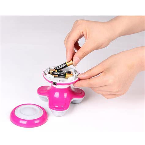 Alat Pemijat Mini Massager triangle mini vibration massager alat pijit pink