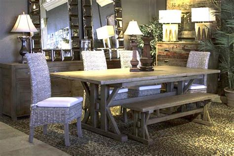reclaimed wood dining room set reclaimed wood dining tables and sets bob mills