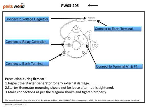 yamaha starter generator wiring diagram wiring diagram