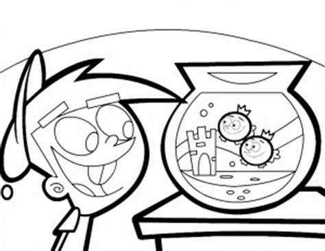 timmy turner and vicky coloring pages