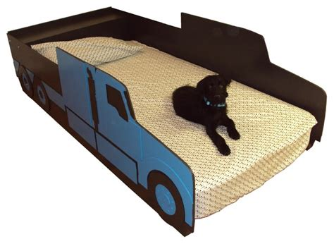 semi truck toddler bed semi tractor truck twin kids bed frame handcrafted