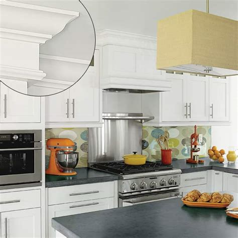 Kitchen Cabinets Molding Ideas | pictures of decorating ideas above kitchen cabinets